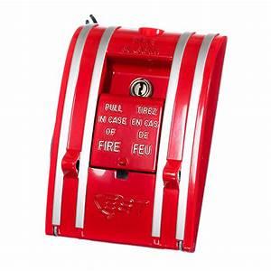 Est Signature Manual Pull Stations   Steel Fire Equipment