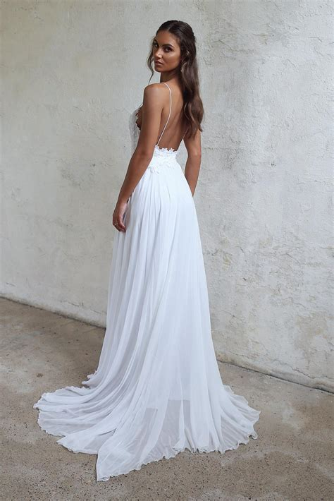 sexy beach wedding dress summer beach wedding