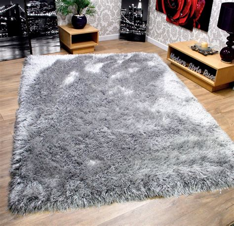 thick plush area rugs rrp 9cm plush mink beige silver grey thick