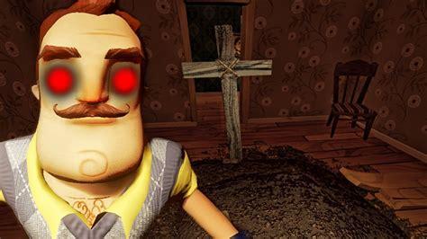 er bringt uns um let s play hello neighbor pre alpha 4 german horror