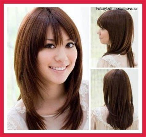 medium hairstyles  women  thick hair medium