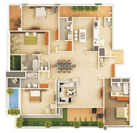 Stunning Inspirational Floor Space Planner   Interior