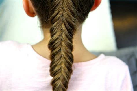 reverse fishtail braid cute braid hairstyles cute