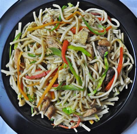 hakka cuisine recipes hakka noodles recipe mareena 39 s recipe collections