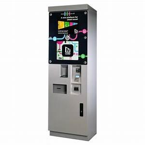 Outdoor Smart Ticket Vending Machines  Tvms