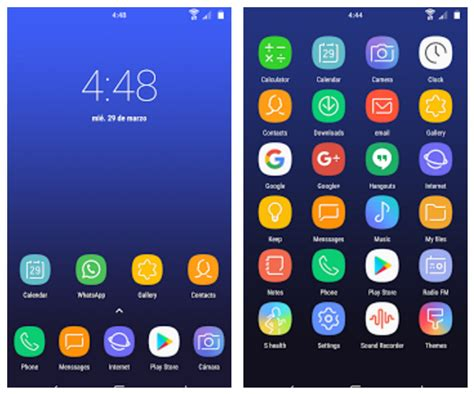 android icon pack galaxy s8 icon pack the android soul