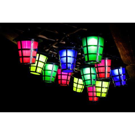 8 metre 40 outdoor garden led solar hanging lantern light