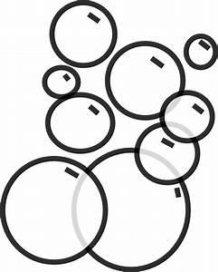 Soap Bubbles Black And White Clipart - Clipart Suggest