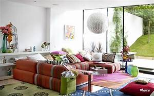 Multiple color sofa for living room design for Several living room ideas can count
