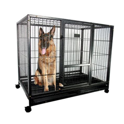heavy duty metal dog cage kennel sturdy pet puppy