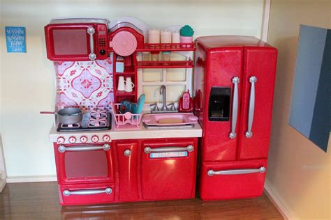 Openingreview Of Our Generation Kitchen Set For American