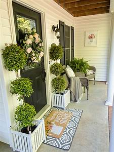 Spring, Porch, Decorating, Tips