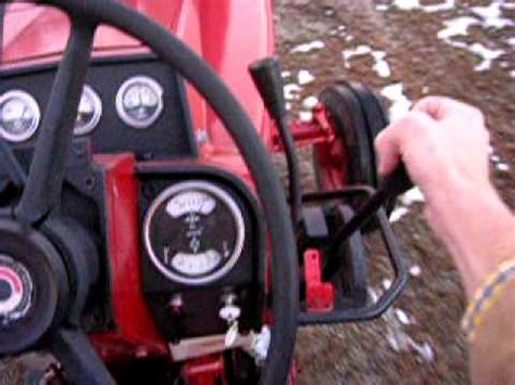 international tractor driving shifting  youtube
