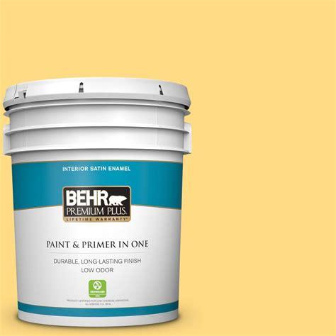 behr premium plus ultra 5 gal p290 4 spirited yellow