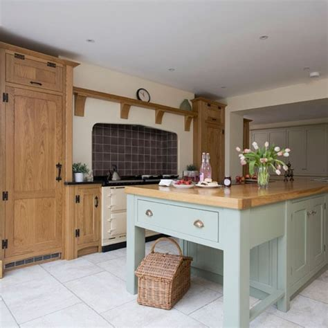 Painted Country Kitchens
