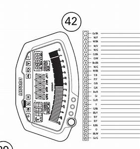 Wiring Diagram 1098  1198 Dash