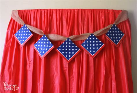 minute fourth  july party backdrop