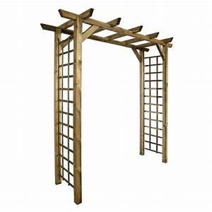 Pergola Pour Plante Grimpante : arche en bois pour jardin 5 pergola pour plante ~ Premium-room.com Idées de Décoration