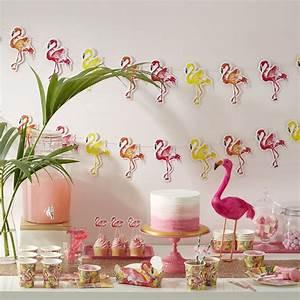Flamant Rose Deco Jardin : flamant decoration murale flamand lampes deco fete theme saint exterieur sablon anniversaire ~ Teatrodelosmanantiales.com Idées de Décoration
