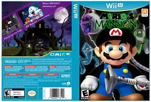 Mario39s Mansion Wii U Box Art Cover By Tallahassee