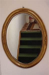 Spiegel Antik Oval : salonspiegel antiker spiegel oval facettenschliff art deko ~ Markanthonyermac.com Haus und Dekorationen