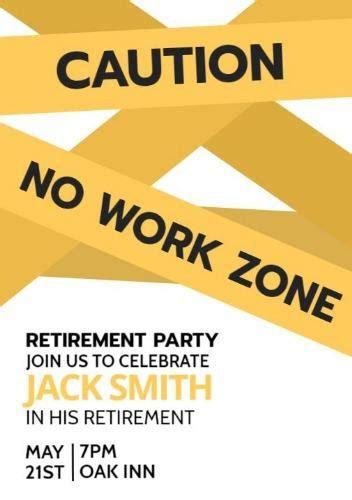 retirement party invitation template shilohmidwiferycom