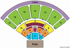 Florida State Fairgrounds Amphitheater Seating Map ...