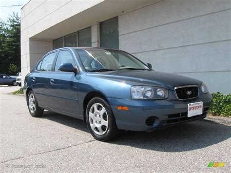 Hyundai Elantra Gls 2003 by 2003 Blue Hyundai Elantra Gls Sedan 16387568