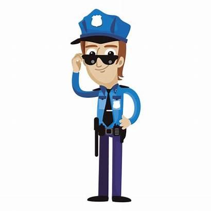Cartoon Policeman Funny Transparent Cartoons Svg Teacher