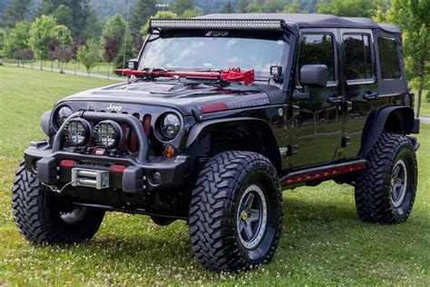 jeep wrangler rubicon modified 2012 custom jeep wrangler rubicon unlimited with 5 7liter hemi