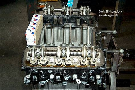 Buick 215 Crate Engine by Buick Remanufactured Engines