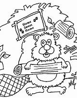 Beaver Colouring Dam Pages Coloring Drawing Sheets Clipart Printable Canada Scouts Thekidzpage Copyright Cliparts Clip Popular Getdrawings Library sketch template