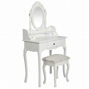 Coiffeuse Blanche Ikea : coiffeuse blanche avec miroir si ge destockoutils ~ Teatrodelosmanantiales.com Idées de Décoration