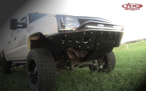 chevy  hd stealth front bumper add