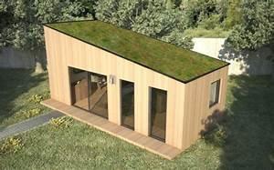 Chalet De Jardin Contemporain : construction de module en bois yvelines ~ Premium-room.com Idées de Décoration