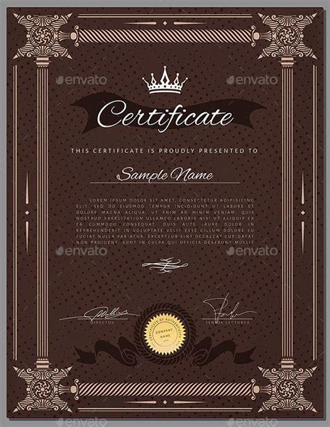 sample graduation certificate template  documents
