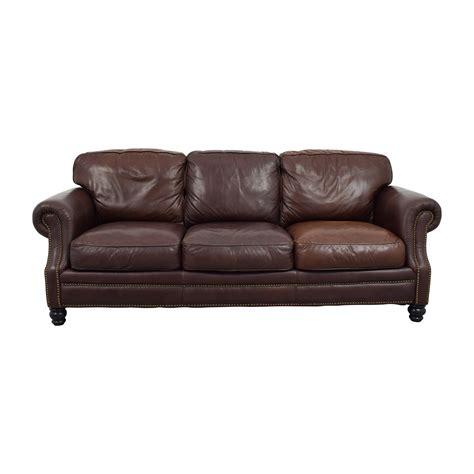 3 cushion leather sofa ashton sofa 10 spring street ashton faux leather sofa bed