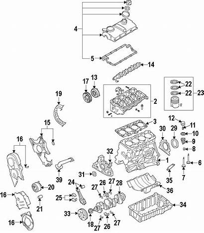 Audi Crankshaft Timing Sprocket Crank Gear Wheel