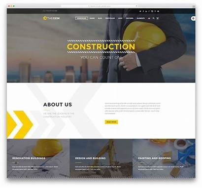 Construction Company Website Colorlib Themes Companies