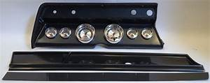 1966 Chevelle Complete Black 6 Gauge Panel With Autometer American Muscle Gauges