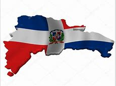 Flag and map of Dominican Republic — Stock Photo © sav_up