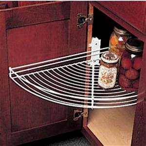 Half-Round Lazy Susans for Kitchen Cabinets - Buy Built in