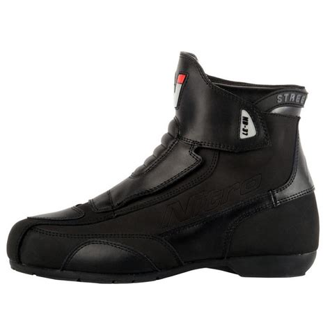short motorbike boots nitro nb 31 short motorcycle boots touring boots
