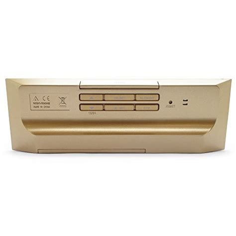 small decorative battery operated ls jcc small portable rectangle brushed aluminum face battery