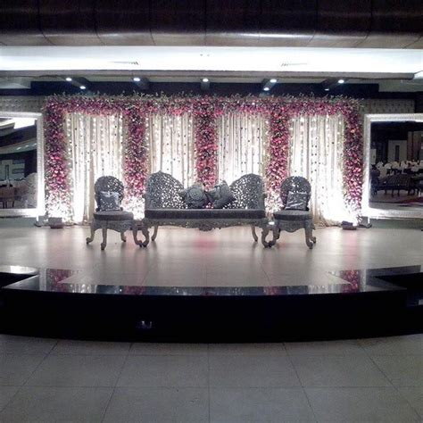 Stage Decoration for Wedding in Islamabad Wedding Halls