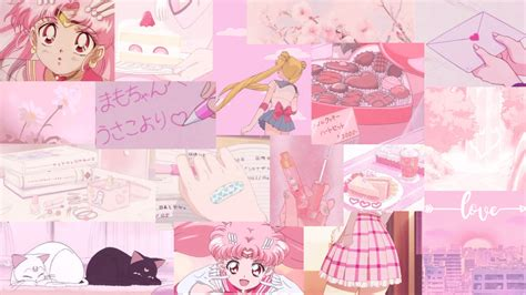 aesthetic creator soft pink anime wallpaper requested