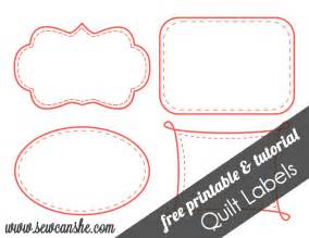 quilt labels free printable sewcanshe free daily