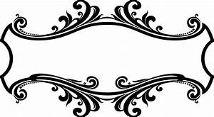 Decorative Ornamental Flourish Frame Design Icons PNG ...