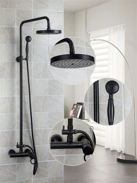 Quality Bathroom Fixtures by Ouboni Torneira Wall Mounted Rubbed Bronze 8 Quot 52023 10