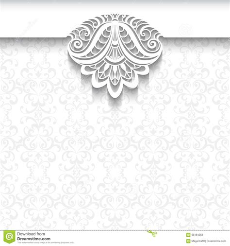 full hd blank background wedding invitation card design